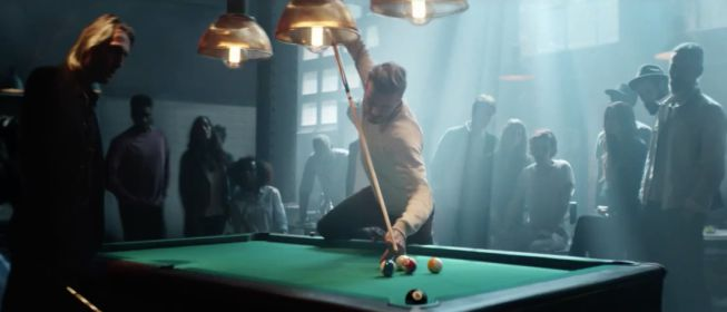 Billiards – Advertising, cinema and tv