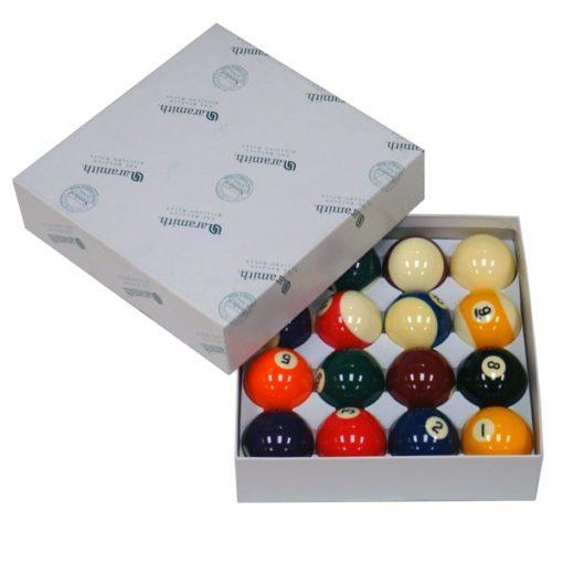 Set bolas de pool Aramith Standard 57,2 mm