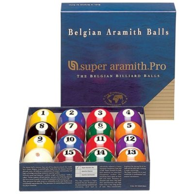Set de bolas pool super aramith pro 57,2 mm