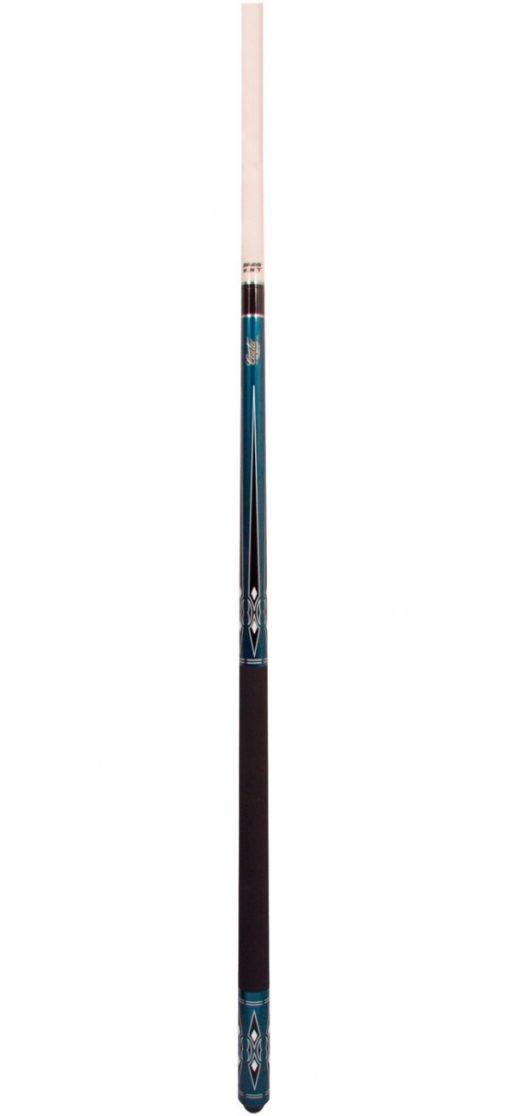 Taco pool Cuetec Chinook Blue 145cm 13mm