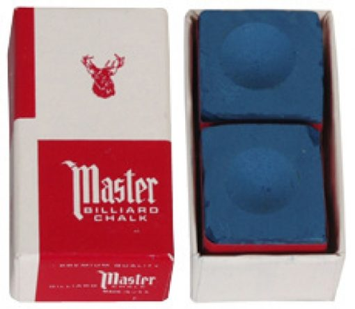 Tiza master azul 2pzs