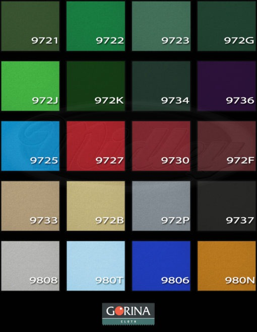 Gorina Basalt colores